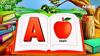 A For Apple ● ABC Alphabets ● Pre School Learning For Kids