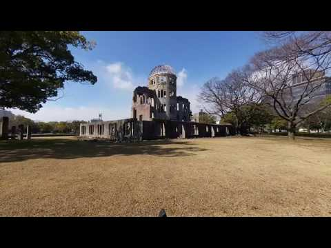 Explore the Hiroshima Castle and Peace Memorial Park in this Amazing VR 180 3D Experience