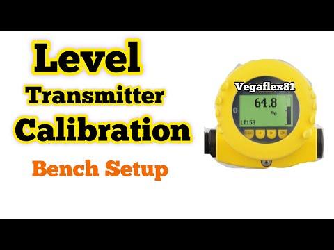 Level transmitter calition || level transmitter radar type ... on