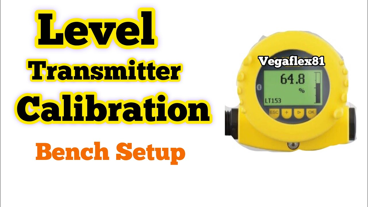 Level transmitter calition || leve transmitter configuration vegaflex on