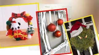 50 Holiday wreaths you don't want to miss