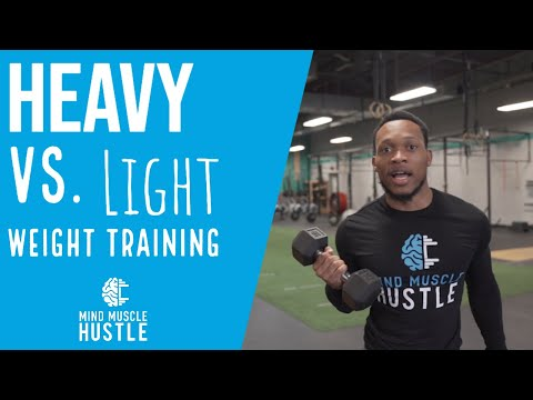 Heavy vs. Lighter Weight Training| Which one is better?