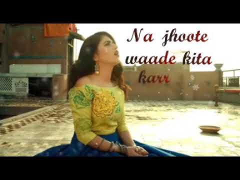 Sad song lyrics most popular in Urdu