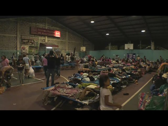 Guatemala volcano: Thousands wait for word on loved ones