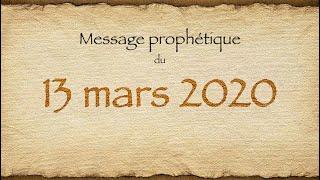 13 mars 2020 - Message au monde entier