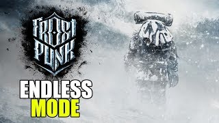 Freezing our Citizens Again! - Frostpunk Gameplay - Endless Mode