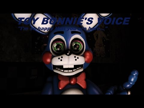 [SFM FNaF] FNaF 2 Toy Bonnie's Voice