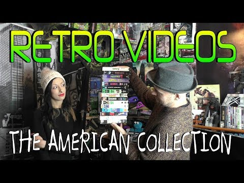 Retro Videos The American Collection Classic Random VHS From New York