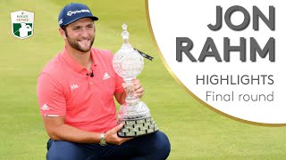 Jon Rahm shoots 62 to win Irish Open | 2019 Dubai Duty Free Irish Open
