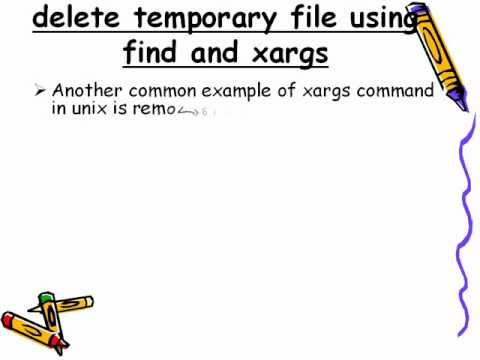 Xargs Command in UNIX and Linux Examples - Unix Command Tutorial 6