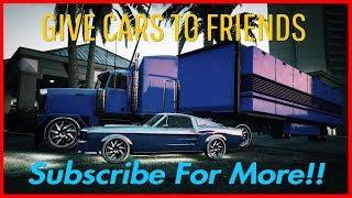 GTA ONLINE: GIVING AWAY FREE MODDED CARS + MONEY   Ep.92  