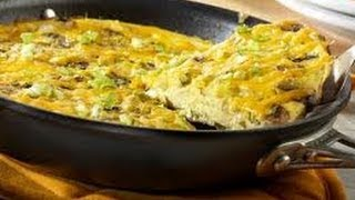 How to Make Cheddar Frittata Recipe