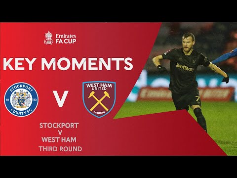 Stockport West Ham Goals And Highlights