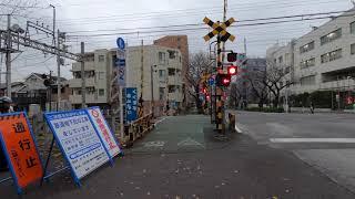 【新井薬師前駅】から【沼袋駅】まで散歩|Walk From Araiyakushi-mae to Numabukuro [Dec.2019 GoProHero8 4K]