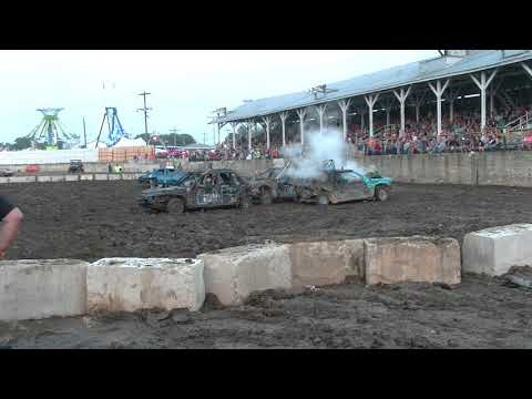 COMPACT WELD BUREAU COUNTY DEMO DERBY 2018