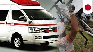 脳梗塞患者を搬送していた救急車の走行を妨害した疑いで、神奈川県警川...