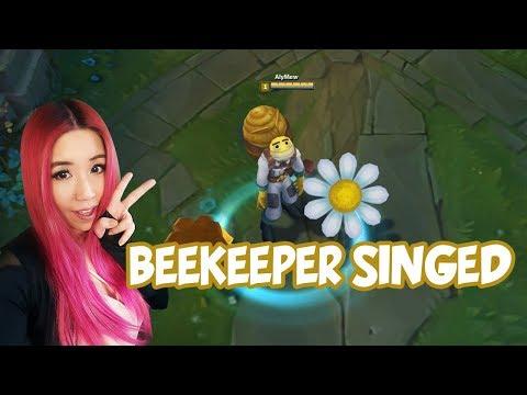 Beekeeper Singed Gameplay I Am A Potato League Of Legends Pbe