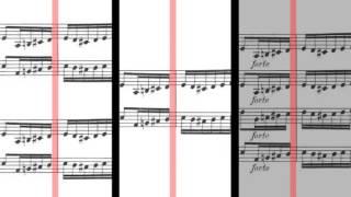 BWV 1063 - Concerto for 3 Harpsichords in D Minor (Scrolling)