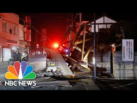 Japan Struck By 7.3 Magnitude Earthquake   NBC News