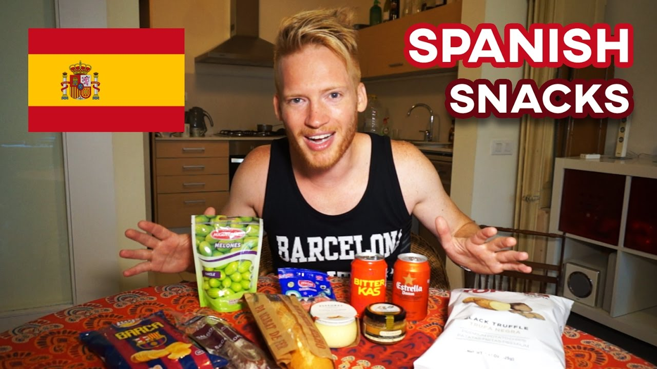 Spanish Snacks & Candy in Barcelona