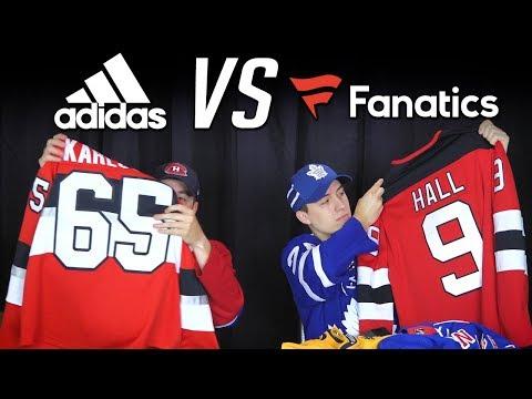 NHL Jersey Review - Adidas Vs Fanatics