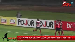 Cuplikan Gol Madura united vs Barito Putera 3 1