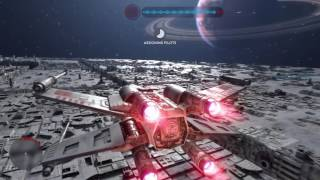 Star Wars Battlefront Death Star Trench Run No Deaths