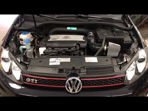 MK6 GTI Integrated Engineering Cold Air Intake Install/Review