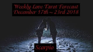 Weekly Love Advice ~ Dec 17th ~ 23rd 2018 Link for Show: http://www...