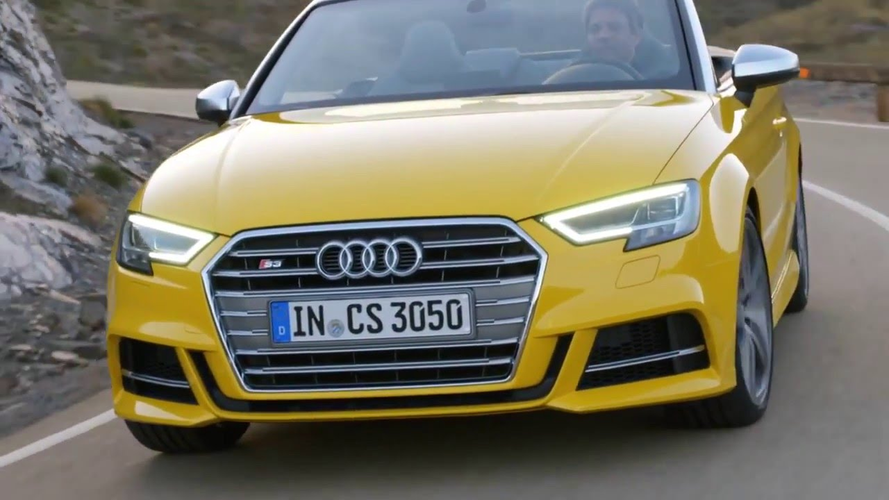 new 2016 audi a3 cabriolet facelift footage youtube. Black Bedroom Furniture Sets. Home Design Ideas