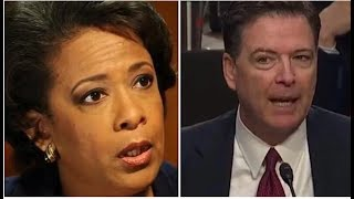 WHEN ASKED ABOUT LORETTA LYNCH WHAT COMEY SAID LEFT THE ROOM SPEECHLESS!