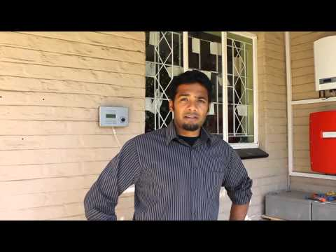 VIDEO RS35NZcure   General Manager of Maxx Solar Energy South Africa Kinesh Chetty demonstrates how