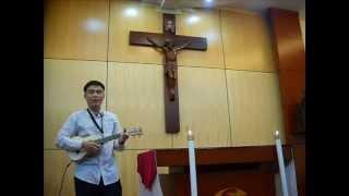 Em Học Với Giê-su (Ukulele - Andrew)