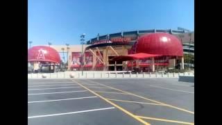 アナハイム エンゼルスタジアム周辺を歩いてみた
