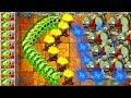 Plants vs Zombies 2 Gameplay New Hard Levels Jurassic Marsh PVZ 2 Series Primal Video
