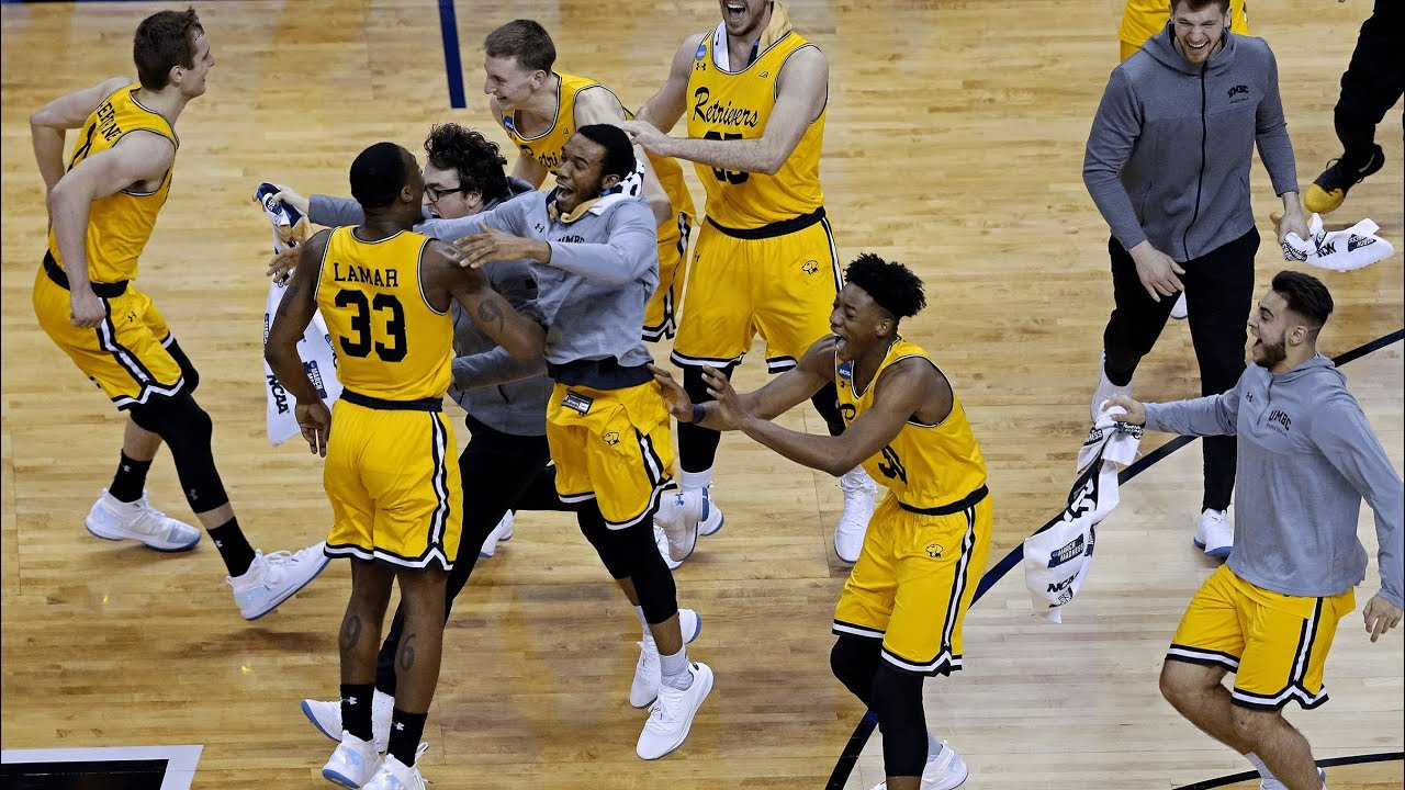 a7df3244f21e UMBC vs. Virginia  Retrievers become first 16-seed to knock off a No. 1.  NCAA March Madness