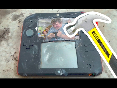 Bored Smashing - 2DS + PRANK!