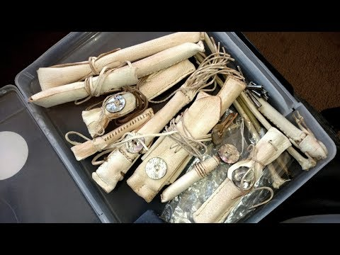 My Eagle Bone Flutes And Whistles- Jemez Pueblo