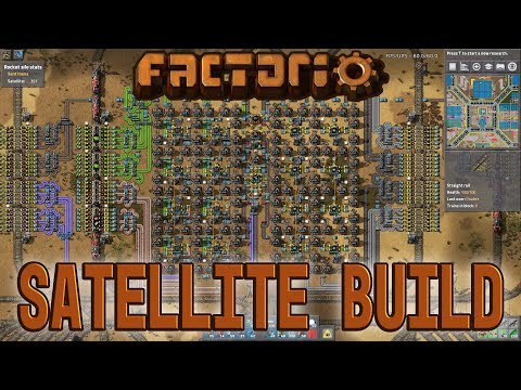 FACTORIO 0 16 | Satellite Build - Episode 32