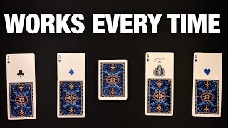 This Simple Yet IMPOSSIBLE Card Trick Fools Everyone!