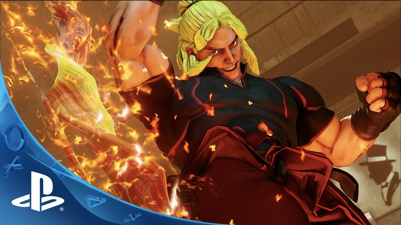 Street Fighter V Ken Trailer Ps4 Youtube