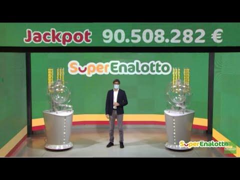 SuperEnalotto - Estrazione e risultati 12/01/2021