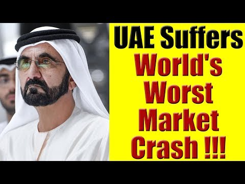 UAE Suffers World's Worst Market Crash & UAE Emirati Calls Me To Tell Me.......