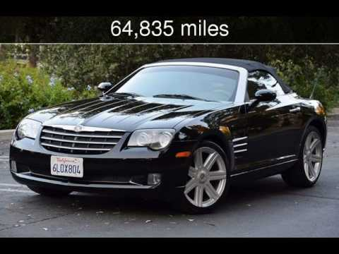 2006 Chrysler Crossfire Limited Used Cars Reseda Ca 2017 07 31