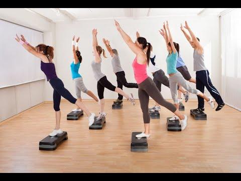Latin Dance Aerobic Workout - Latin Dance Fitness - Salsa Class For Beginners