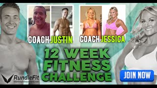 New Year, New You 12 Week Fitness Challenge For Busy People