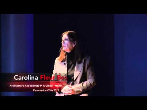 TEDxUFRO - Carolina Fleur Bos - Architecture and identity in a global world