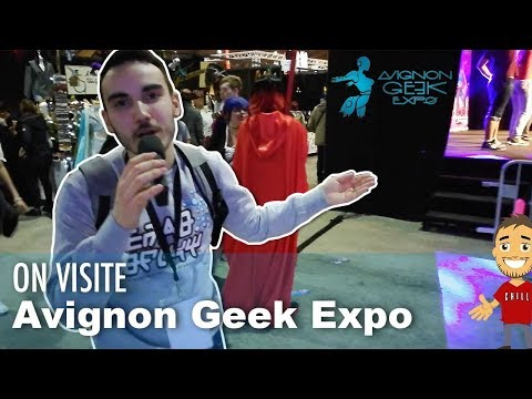 On VISITE les stands de l'AVIGNON GEEK EXPO !