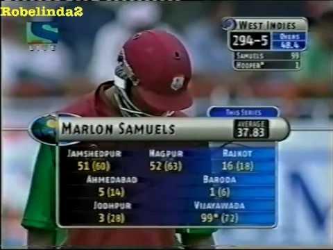Marlon Samue... 2002 India