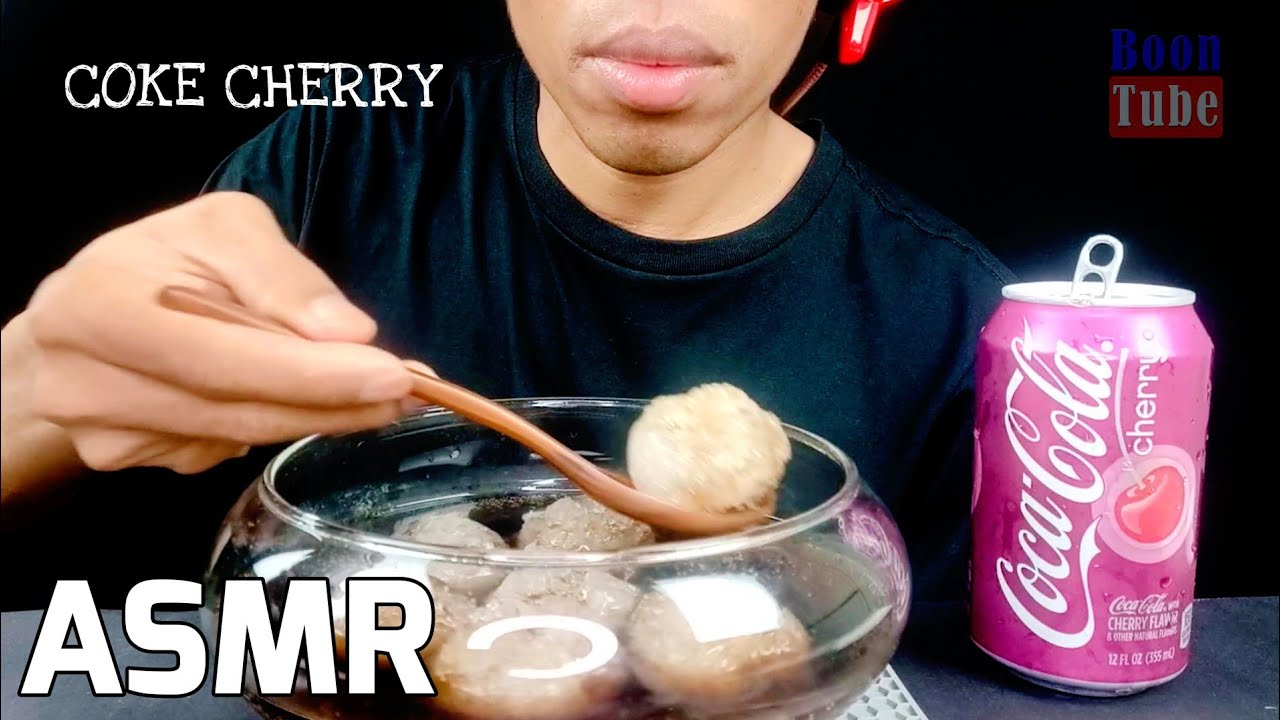 ASMR Drinking Ice cereals ~Coca Cola Cherry Coke Cherry ~ EXTREME CRUNCH | EP.122 I BoonTube